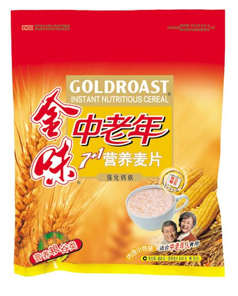 金味中老年7+1营养麦片(强化钙铁)