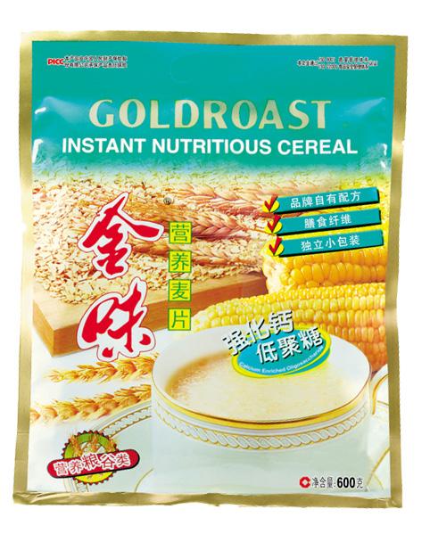 金味营养麦片(强化钙低聚糖)