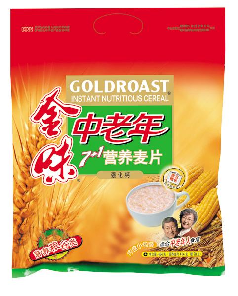 金味中老年7+1营养麦片(强化钙)